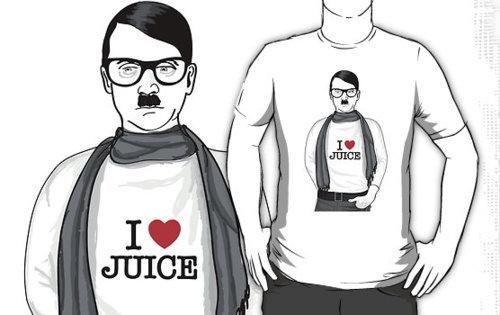 Fuhrer Furor hipster hitler Martin Hosking RedBubble - 4842413056