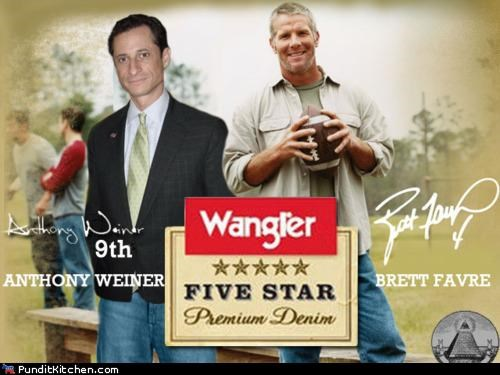 Anthony Weiner,brett favre,political pictures,scandal,sexting,sexual harassment