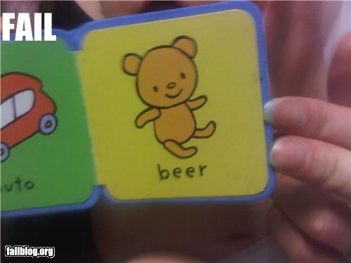 bear beer failboat g rated kids book spelling