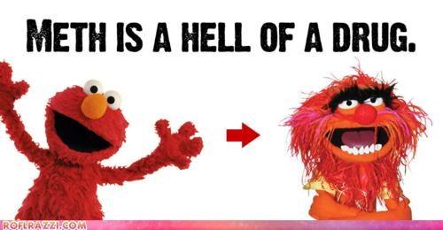elmo,funny,Hall of Fame,meth,muppet,Sesame Street