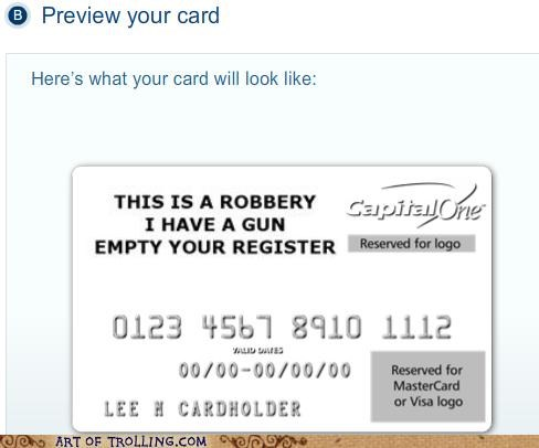 awesome,credit card,robbery