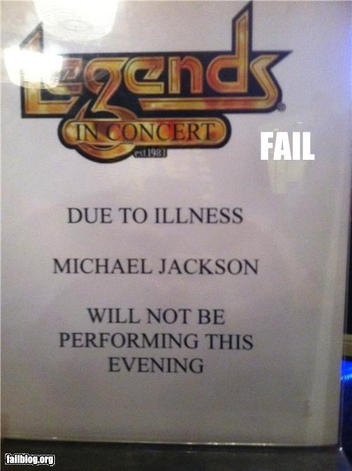 concert,Death,failboat,g rated,michael jackson,signs