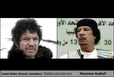 comedians french libya Lionel Astier muammar al-gaddafi - 4843169280