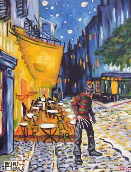 art Fred Crugar Night Café VIcent Van Gogh - 4843243008