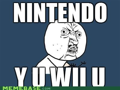 e3,news,nintendo,video games,wii,wii U,Y U No Guy