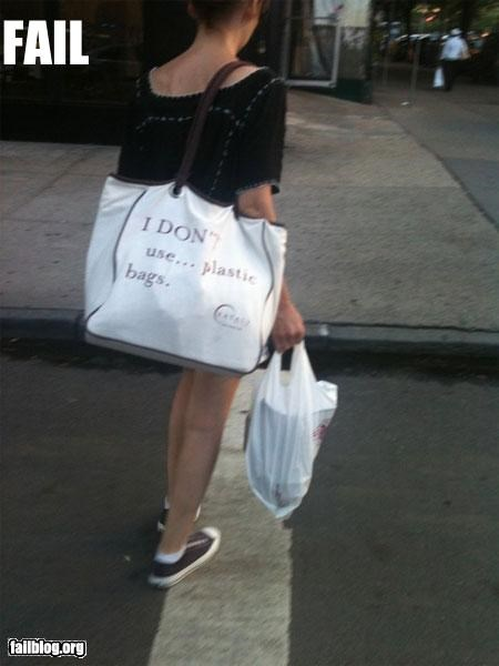 environmentalism,failboat,g rated,hipster,nyc,plastic bag,slacktivism