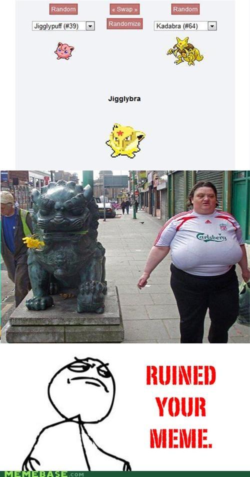 bra carslberg fusion jiggly lion odd Pokémemes Pokémon ruined - 4843420672