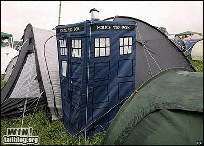 doctor who nerdgasm tardis tents - 4843435520