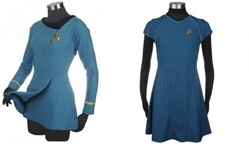 dresses,fashion,movies,Star Trek,star trek uniforms,tv shows,uniforms