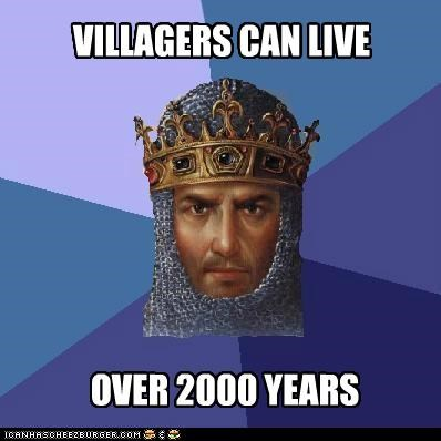 VILLAGERS CAN LIVE OVER 2000 YEARS