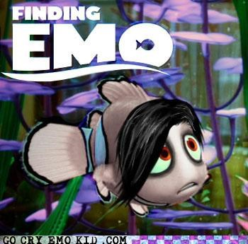 disney,emo,emolulz,finding nemo,photoshop