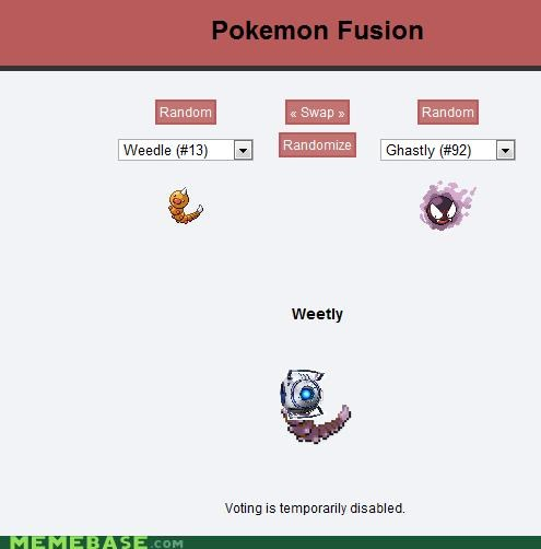 fusion Pokémemes portal 2 space valve the game video games Wheatley - 4844343040