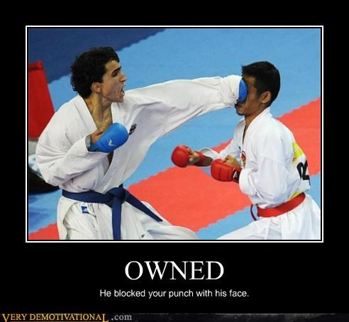 hilarious karate owned punch - 4844362240