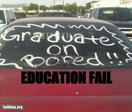 failboat graduation g rated irony school spelling - 4844592384