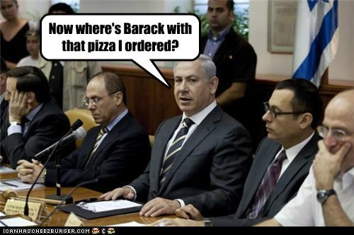 Now where's Barack with that pizza I ordered?