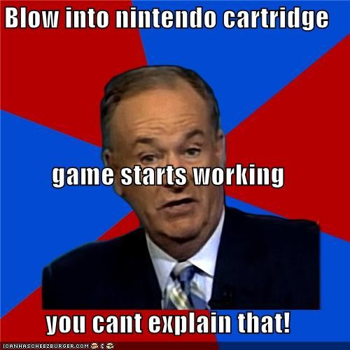 bill-oreilly blow cartridge games NES nintendo video games - 4844666368
