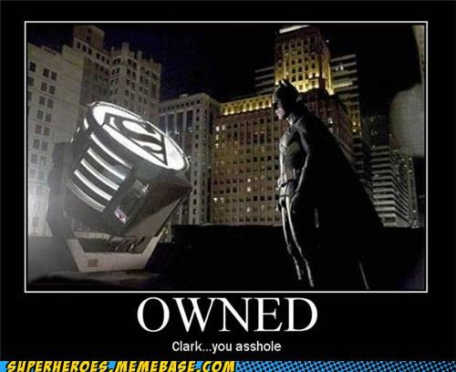 Bat signal batman Clark Kent owned Super-Lols - 4844693248