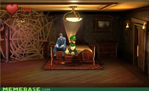 luigis-mansion Memes nintendo okayface sad keanu video games wii U - 4844855808