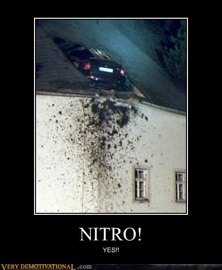 car,hilarious,nitro,roof,wtf