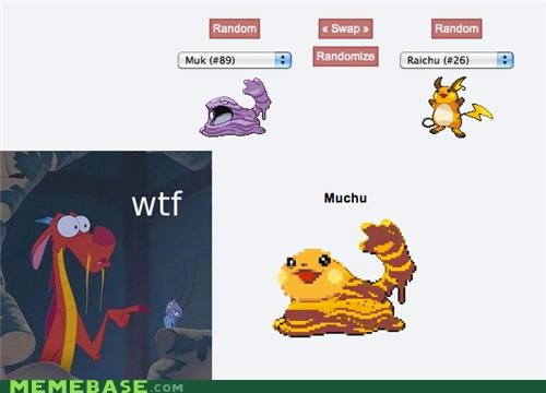 disney dragon eddie murphy fusion muchu mulan Pokémemes Pokémon - 4845413888