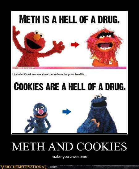 cookies,Hall of Fame,hilarious,meth,muppets,Sesame Street