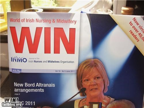 acronym,nurses,oh ireland,poster,win