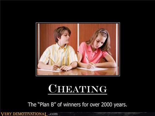 cheating,hilarious,plan b,winner