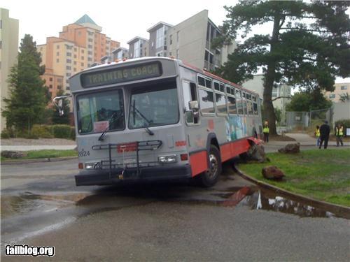 bus crash driving failboat g rated training - 4845941760
