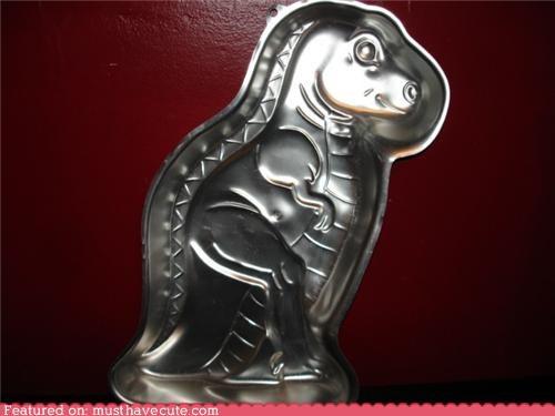 cake dinosaur mold pan t rex - 4846014464