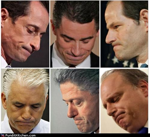 Anthony Weiner,bill clinton,Elliot Spitzer,political pictures