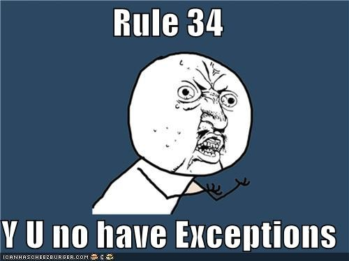 childhood exceptions family Rule 34 Y U No Guy - 4846352640