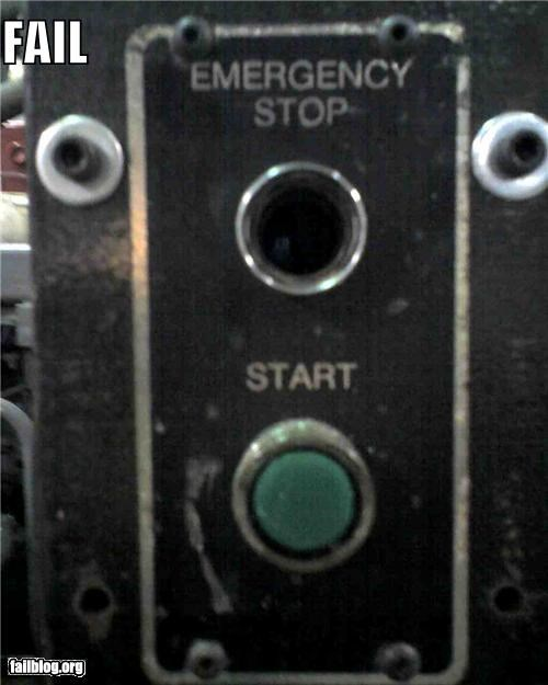 emergency failboat g rated Professional At Work red button - 4846409728