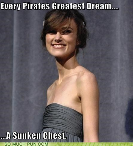 booty chest double entendre double meaning Keira Knightley natalie portman Pirates of the Caribbean sunken - 4846432256