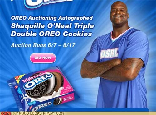 contest oreo Shaq shaquille-oneal triple double - 4846452992
