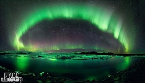 Mother Nature FTW: The Northern Lights