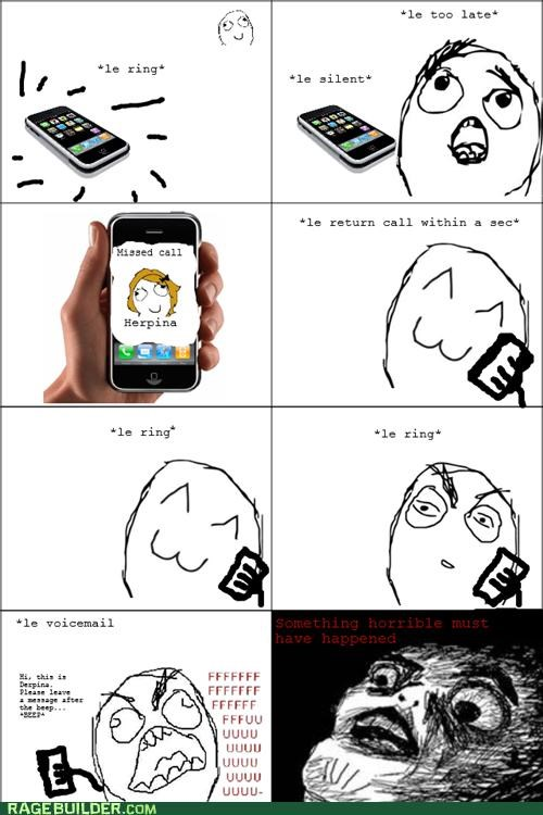 call phone Rage Comics ring - 4846551808