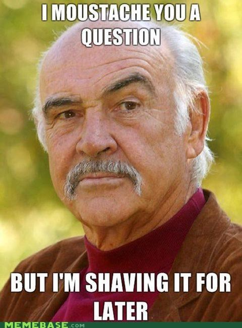goad goatee i-know-its-a-stretch Memes moustache puns sean connery