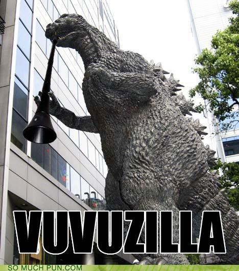 godzilla hashtag literalism prefix similar sounding vuvuzela - 4847109632