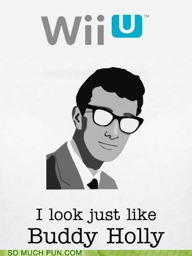buddy holly,console,Hall of Fame,literalism,lyrics,memebase,nintendo,song,video game,video games,weezer,wii U
