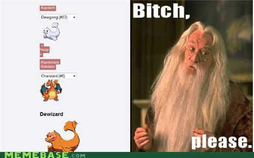 fusion gandalf Harry Potter Pokémemes Pokémon science wizard - 4847744512