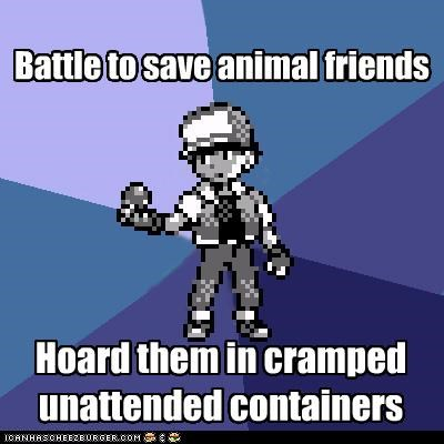 Battle to save animal friends Hoard them in cramped unattended containers