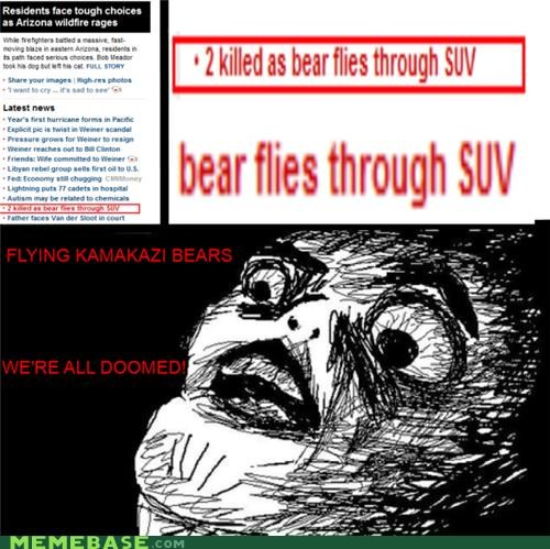 bear doomed flying raisins-super-fuuuu suv - 4848195072