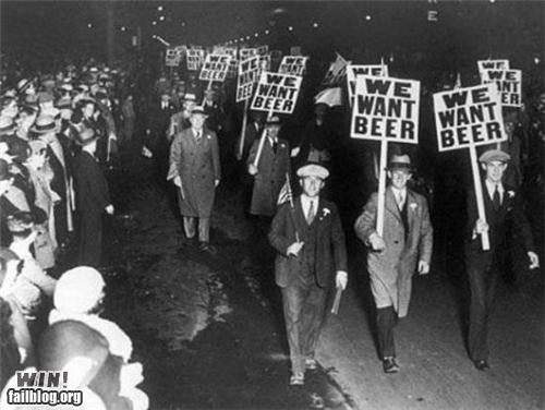 alcohol beer protesters signs you gotta fight for your right - 4848283136