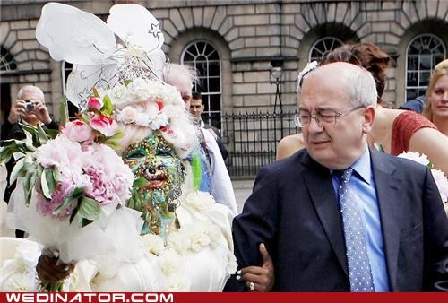 beyoncé britain funny wedding photos most pierced bride piercings world record - 4848319232
