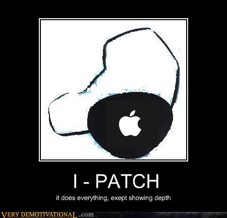 apple aweosme i-patch pirates Pure Awesome