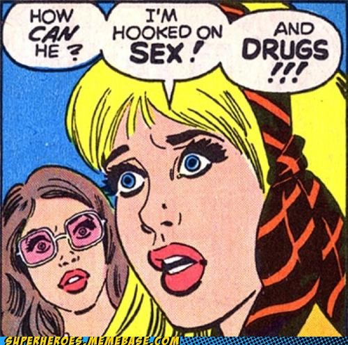 60s comics drugs sex Straight off the Page wtf