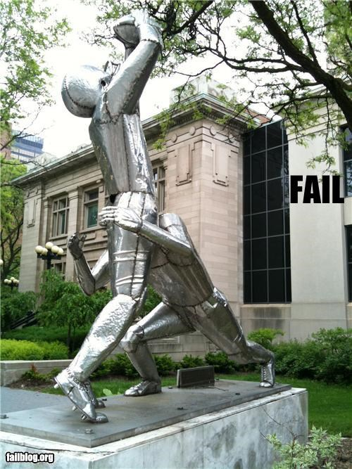 failboat,football,innuendo,statues,Things That Are Doing It