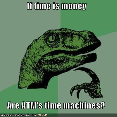 ATM back to the future machine money pin time - 4849326592