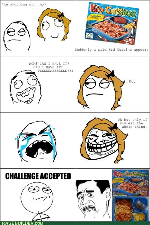 frozen food,gross,not as pictured,Rage Comics