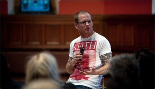 Corey Taylor kids these days Motivational Speaker Oxford Union Oxford University slipknot - 4849492992